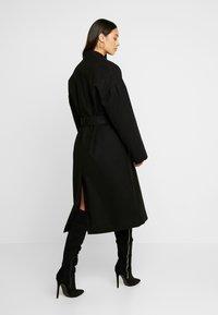 NA-KD - CLASSIC LONG COAT - Classic coat - black - 2