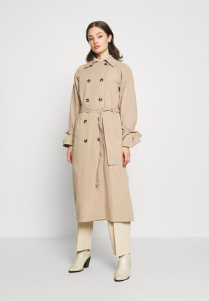 CLASSIC BELTED COAT - Trench - beige