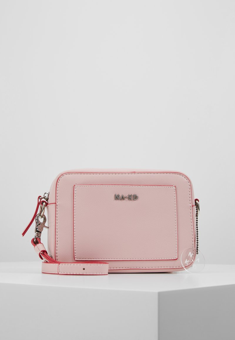 NA-KD - MINIMALISTIC SHOULDER BAG - Across body bag - pink