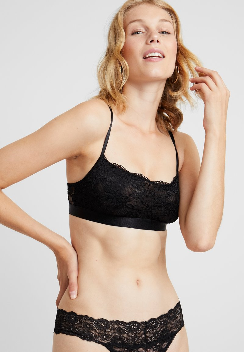 NA-KD - BANDEAU BRA - Top - black