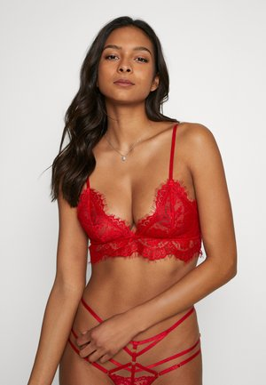 STRAP BRA - Triangel-BH - red