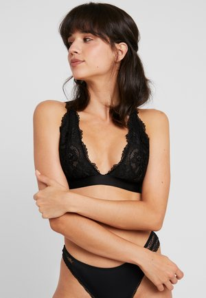 SOFT BRA - Triangel-BH - black