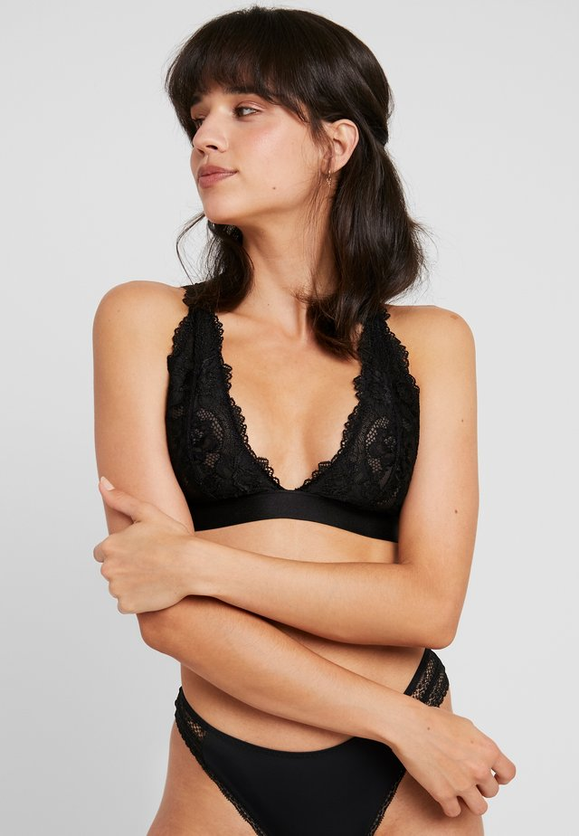 SOFT BRA - Kaarituettomat rintaliivit - black