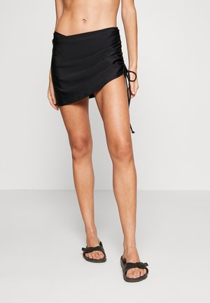 SWIM SKIRT - Bikini bottoms - black