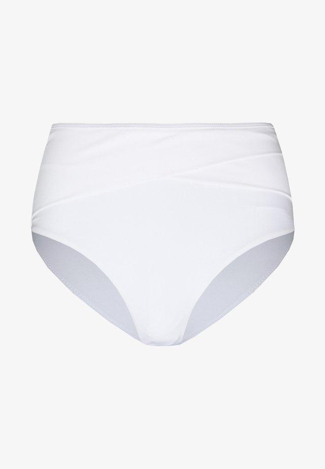 HIGHWAIST SLIM PANTY - Bikinialaosa - white