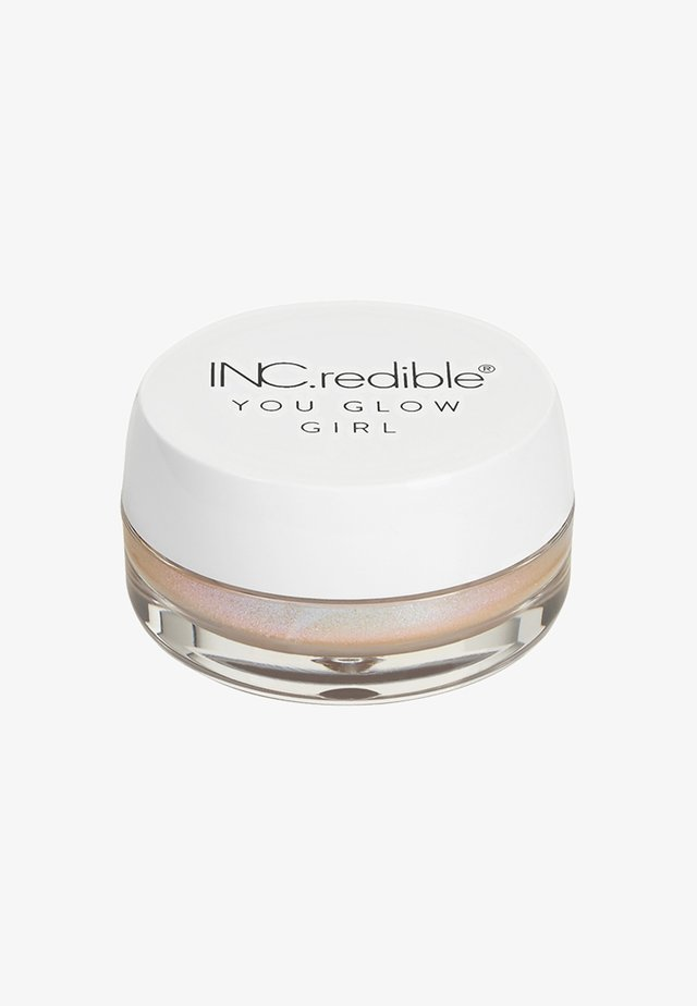 INC.REDIBLE YOU GLOW GIRL IRIDESCENT JELLY - Highlighter - 10343 more fizz, less biz