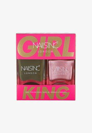 TREND DUO - Nail set - 10723 girl king
