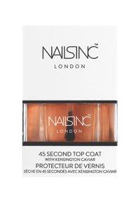 Nails Inc - KENSINGTON CAVIAR TOP COAT 14ML - Nagellak: top coat - 6277 neutral - 1