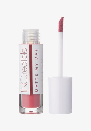 INC.REDIBLE MATTE MY DAY LIQUID LIPSTICK - Vloeibare lippenstift - 10061 throwin it back