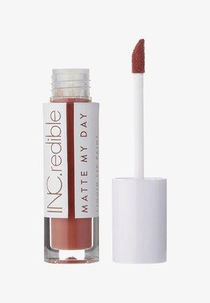 INC.REDIBLE MATTE MY DAY LIQUID LIPSTICK - Flüssiger Lippenstift - 10062 future is female