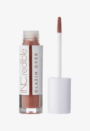 INC.REDIBLE GLAZIN OVER LIP GLAZE - Lip gloss - 10086 double shot day