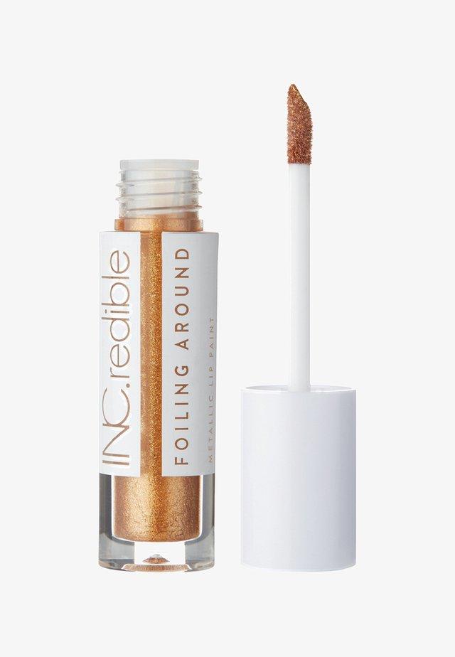 INC.REDIBLE FOILING AROUND METALLIC LIP PAINT - Flüssiger Lippenstift - 10079 we feel ya