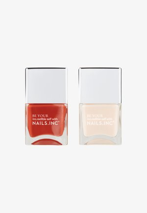 JUST KINDA BLISS - Nagelpflege-Set - terracotta/nude