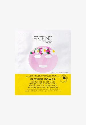 FACE INC FLOWER POWER SHEET MASK HYDRATING 25ML - Masker - 9120 neutral