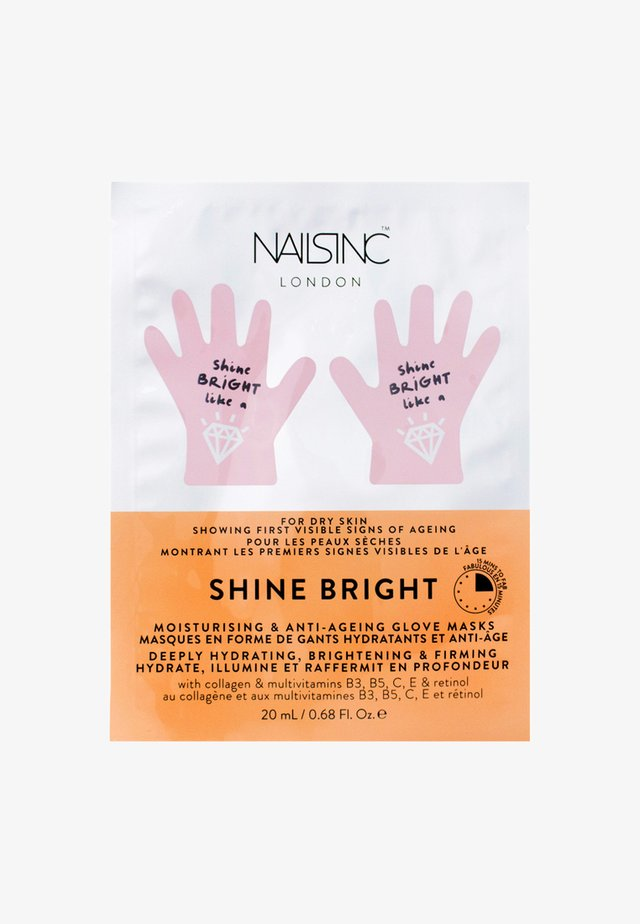 FACE INC MOISTURISING & ANTI-AGEING HAND MASKS - Handmask - neutral