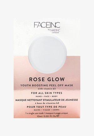 FACE INC ROSE GLOW PEEL OFF POD MASK 10ML - Maschera viso - 9323 neutral