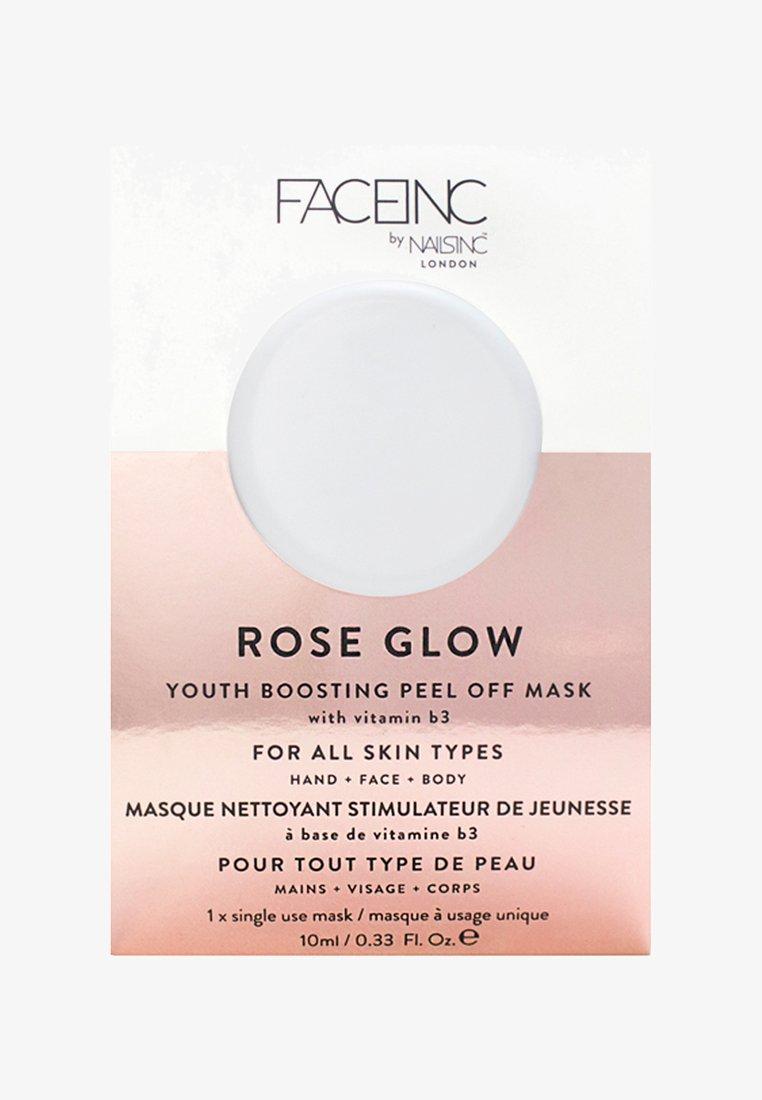 INC.redible - FACE INC ROSE GLOW PEEL OFF POD MASK 10ML - Maseczka - 9323 neutral