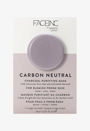 FACE INC CARBON NEUTRAL CHARCOAL PURIFYING POD MASK 10ML - Maschera viso - 9322 neutral