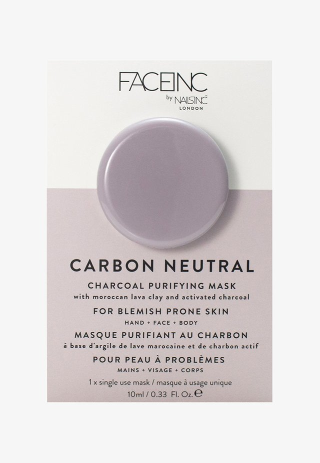 FACE INC CARBON NEUTRAL CHARCOAL PURIFYING POD MASK 10ML - Masker - 9322 neutral