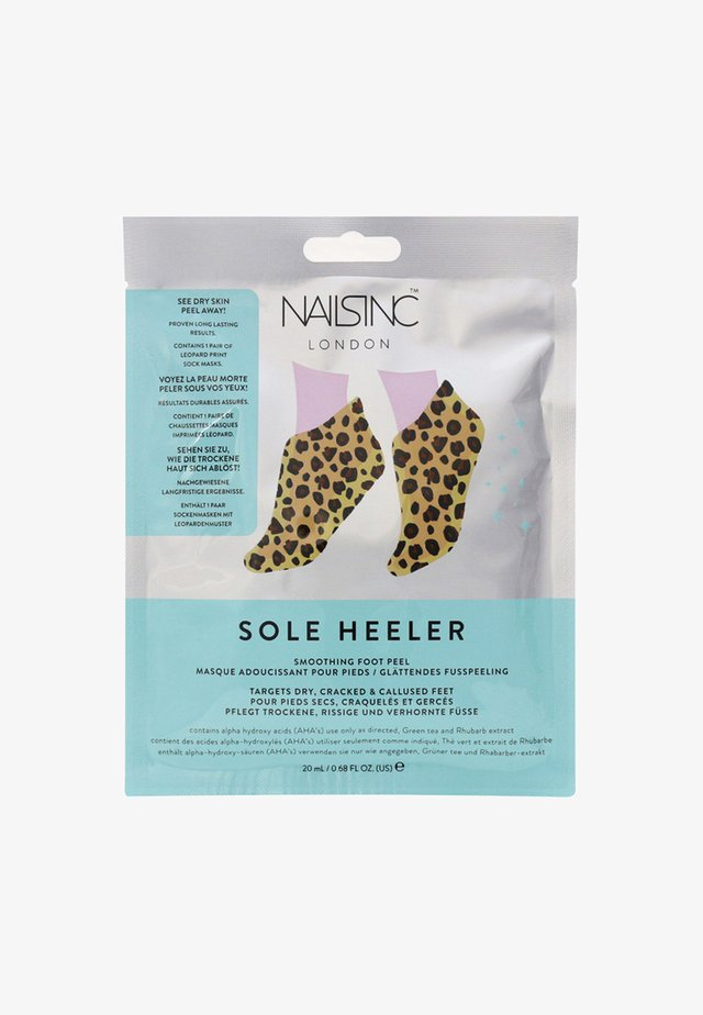 SOLE HEELER SMOOTHING FOOT PEEL 20ML - Foot scrub - 9497 neutral
