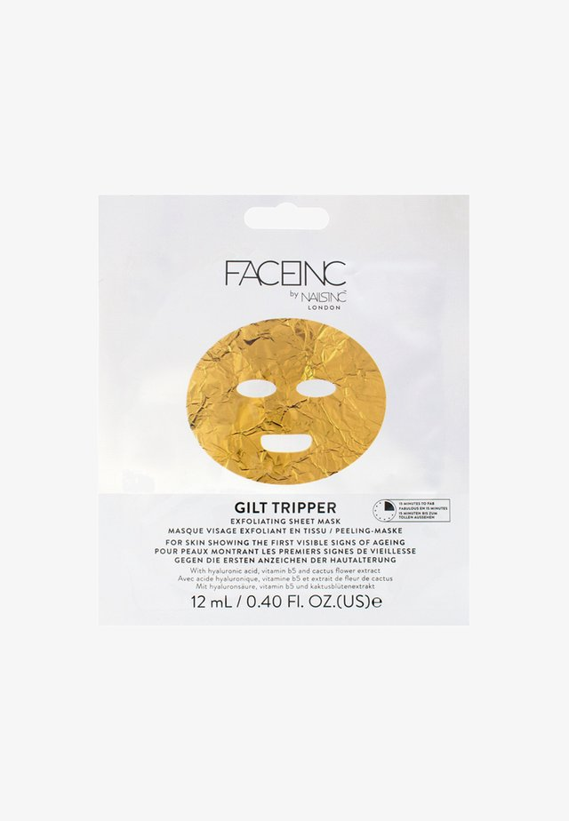 FACE INC GILT TRIPPER EXFOLIATING SHEET MASK 12ML - Ansiktsmask - 9623 neutral