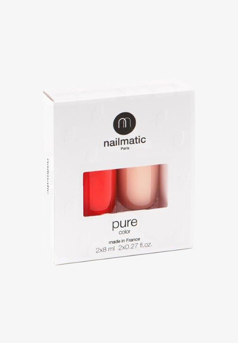 nailmatic - SUSTAINABLE PURE COLOR COLOR SET 8ML - Nail set - ndp002