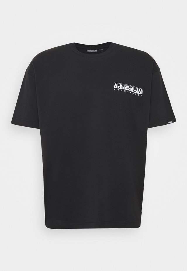 YOIK UNISEX - T-shirt z nadrukiem - black