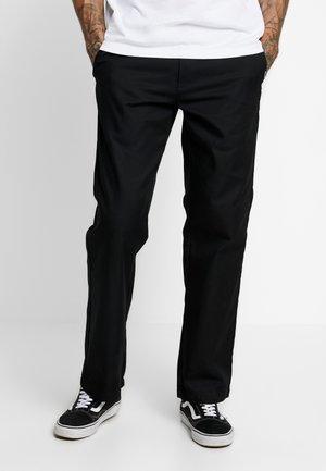 MILAN  - Chino kalhoty - black