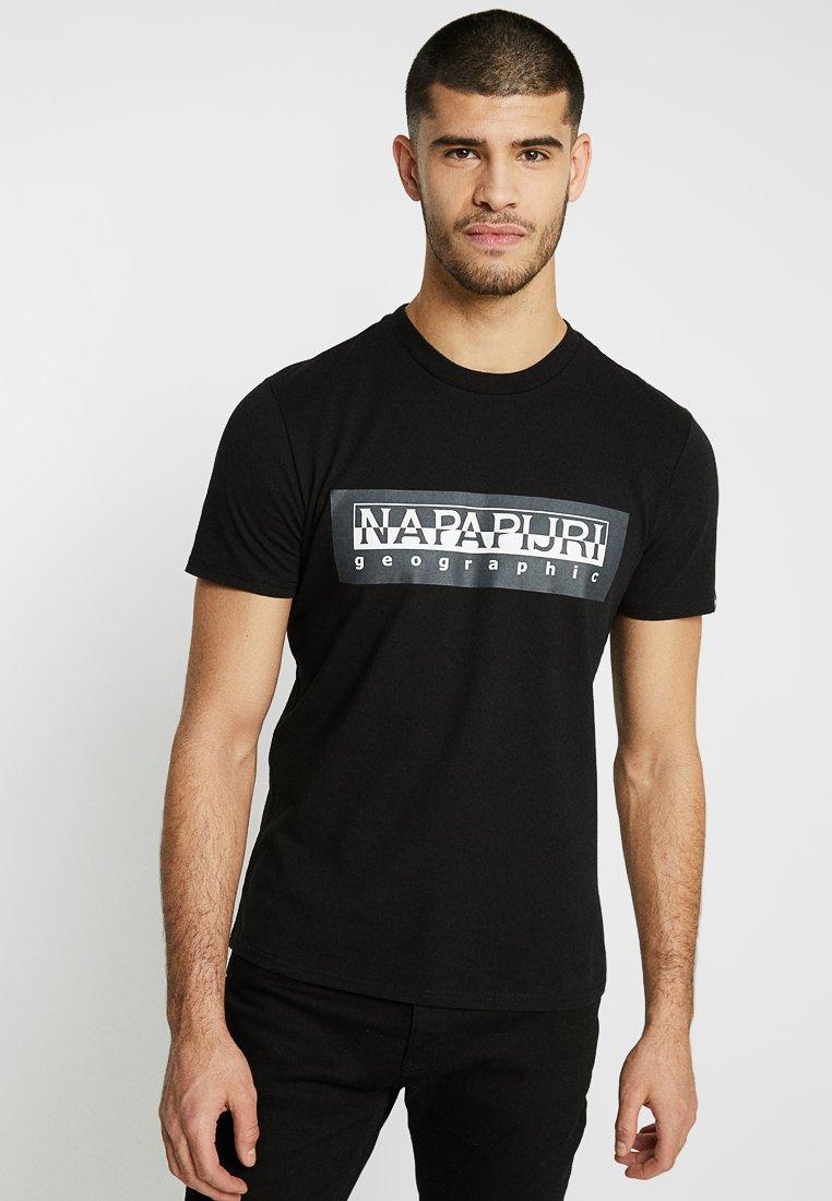 Napapijri The Tribe - SELE - Camiseta estampada - black