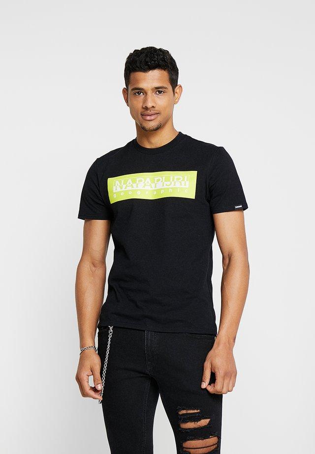 BOXLOGO - T-shirt con stampa - black