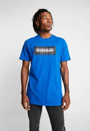 SOX CHECK  - T-shirt imprimé - blue snorkel