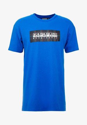 SOX CHECK  - T-shirt z nadrukiem - blue snorkel