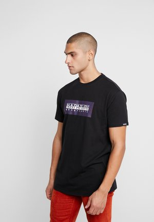 SOX CHECK  - T-shirt imprimé - black