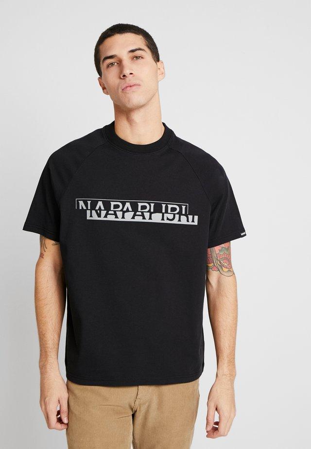 SIRE - T-shirt z nadrukiem - black