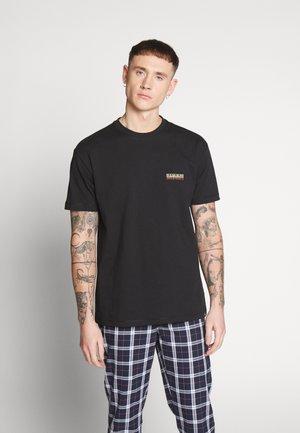 SASE - Camiseta estampada - black