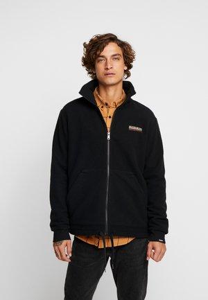 TASE - Fleecová bunda - black