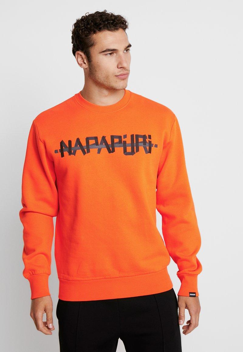 Napapijri The Tribe - BOLT - Sweatshirt - orange puffin