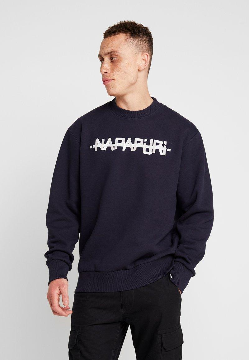 Napapijri The Tribe - BOLT - Sweatshirts - blue marine