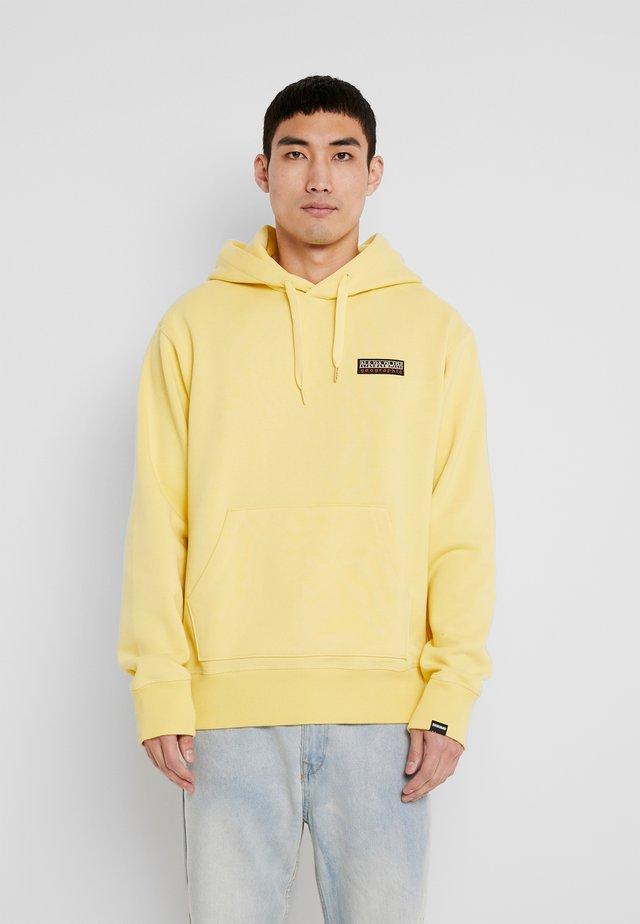 BASE - Kapuzenpullover - yellow sunshine