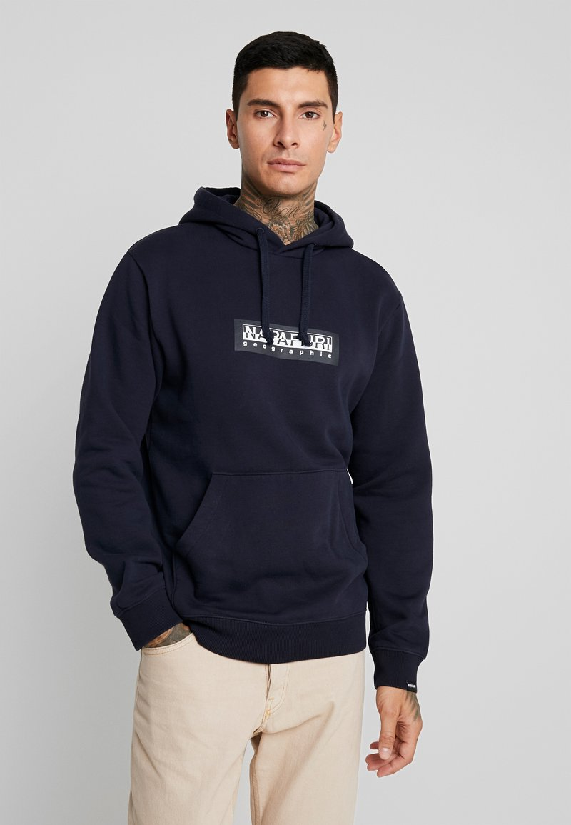 Napapijri The Tribe - BOX - Kapuzenpullover - blue marine