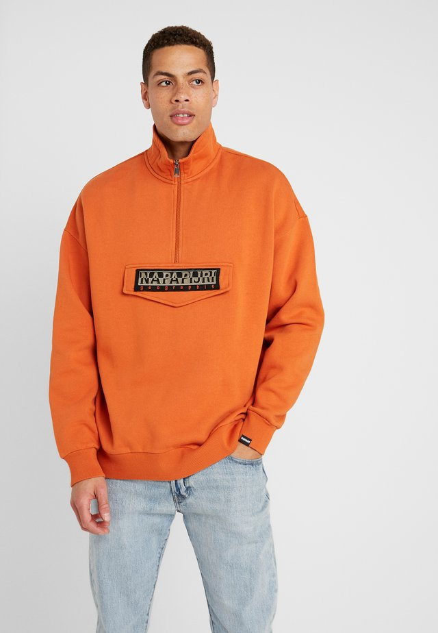 BAO  - Sweatshirt - orange sunset