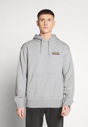 BASE  - Hoodie - med grey mel