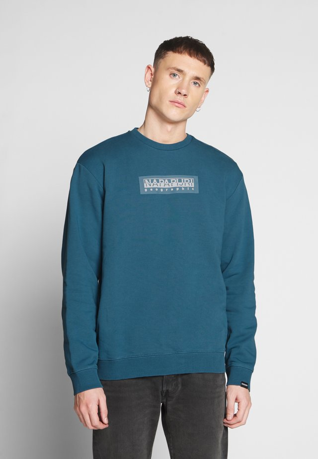 BOX - Sweatshirt - mallard blue
