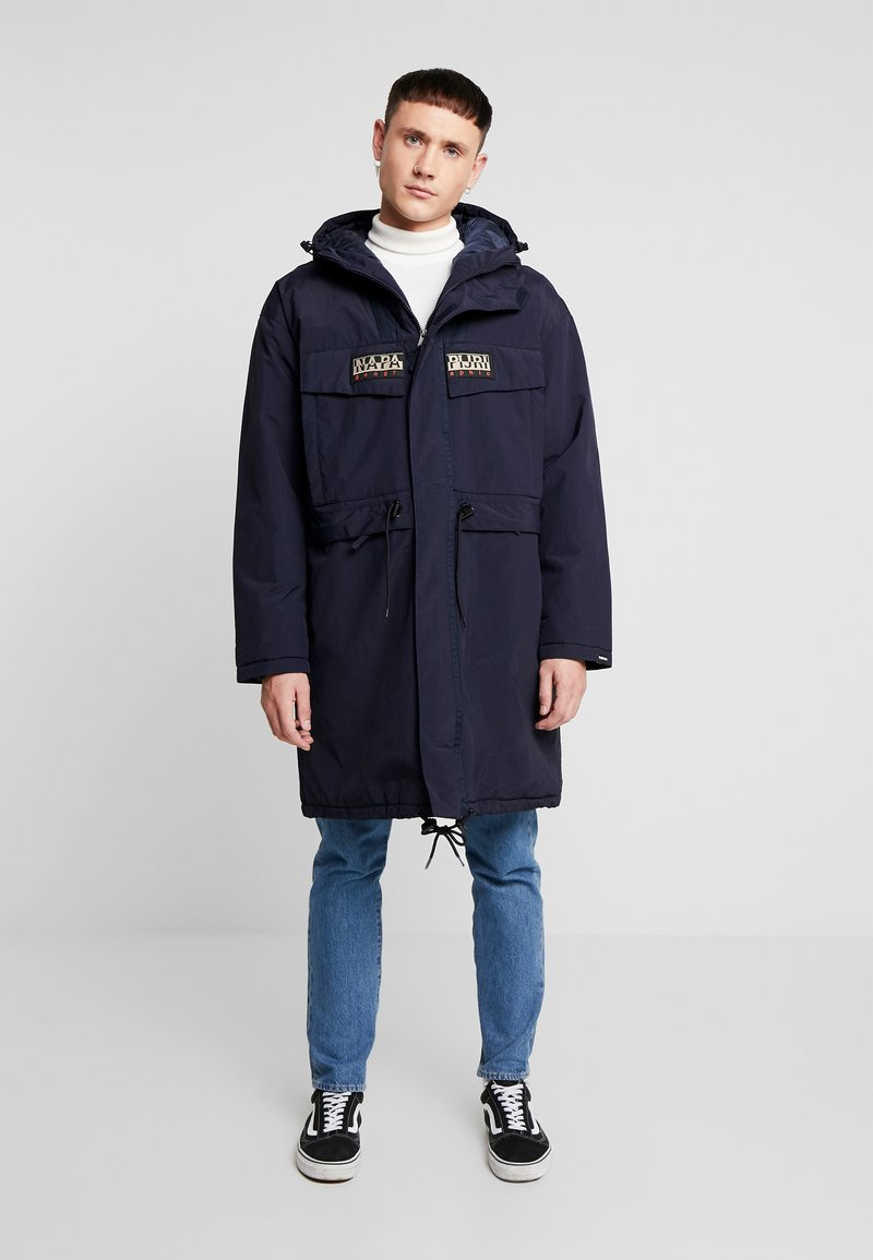 Napapijri The Tribe - SKIDOO CREATOR - Winter coat - blu marine