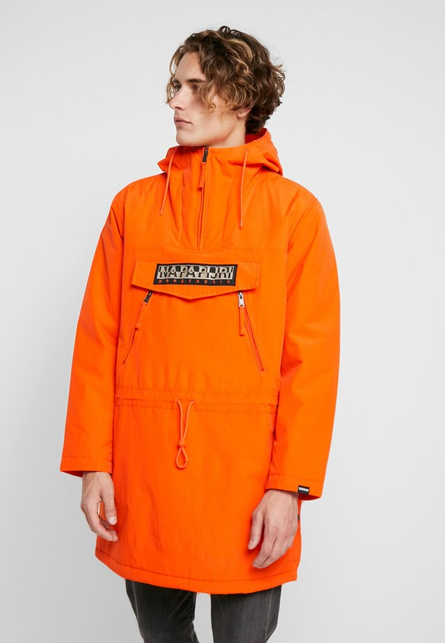 RAINFOREST LONG - Parka - orange puffin