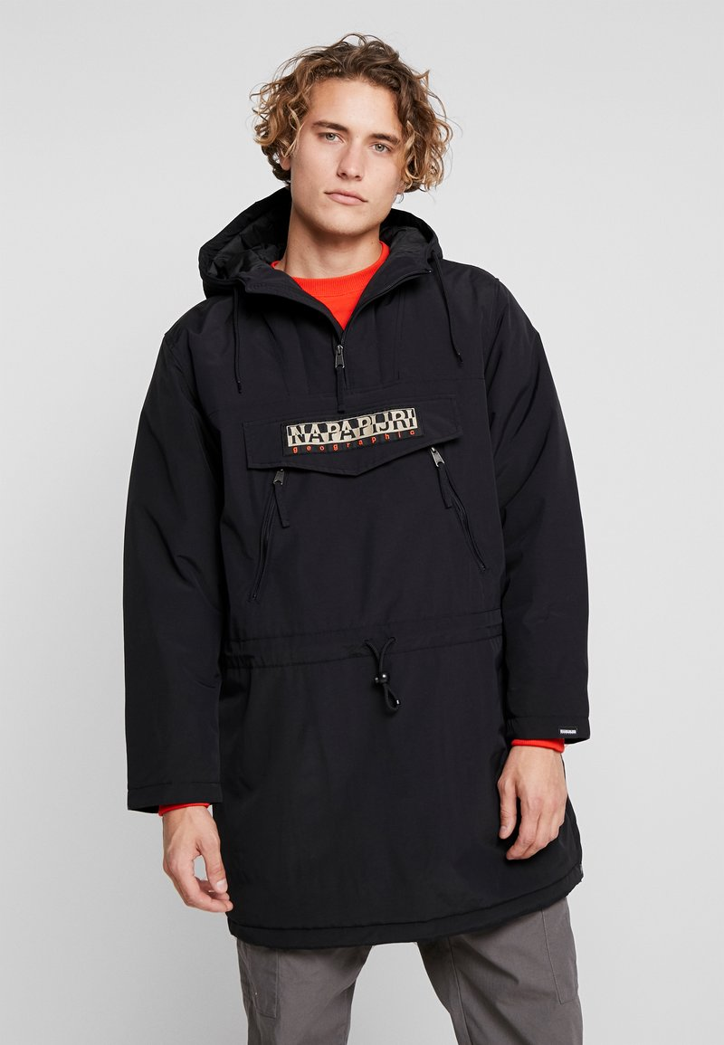 Napapijri The Tribe - RAINFOREST LONG - Parkaer - black