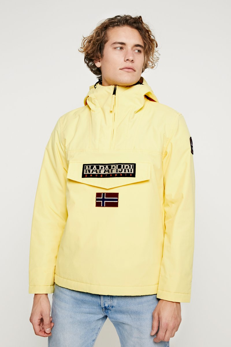 Napapijri The Tribe - RAINFOREST - Light jacket - yellow sunshine