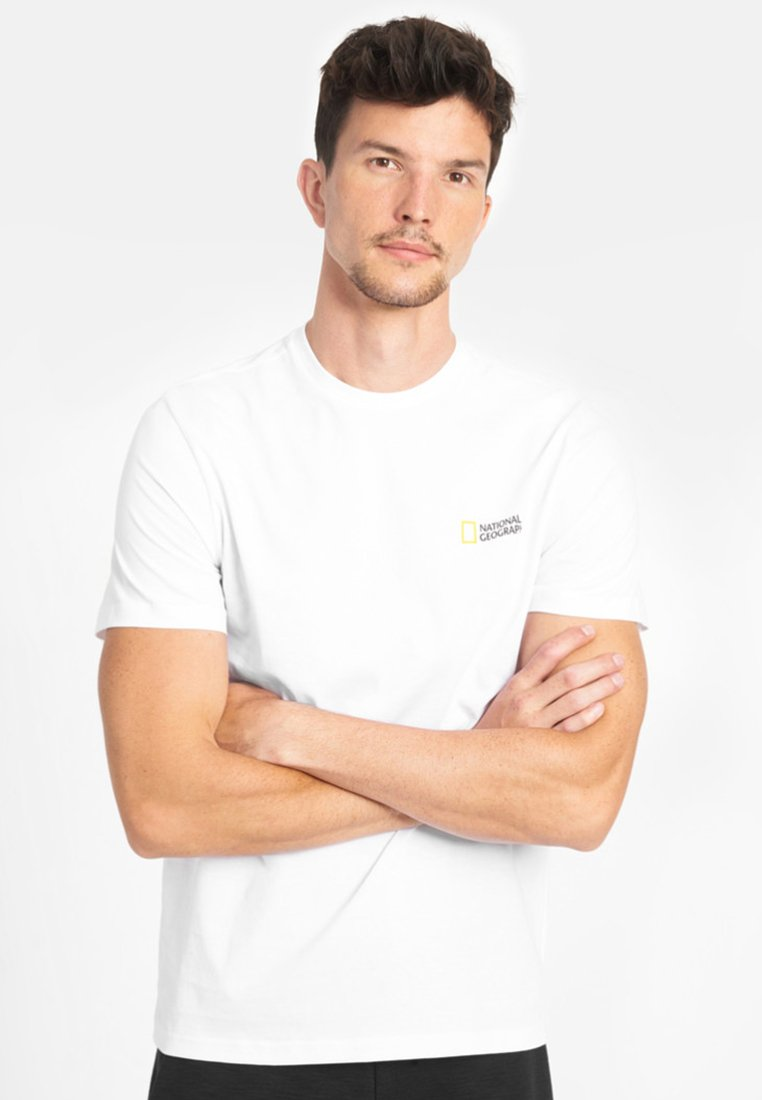 National Geographic - Basic T-shirt - white