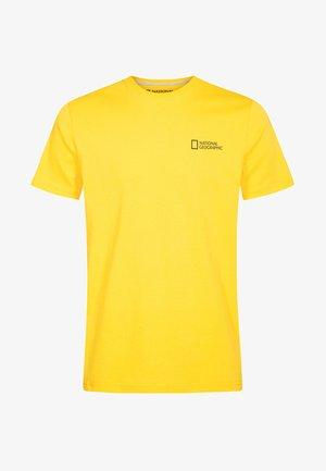 Basic T-shirt - lemon chrome