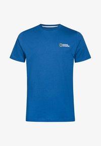 National Geographic - Basic T-shirt - blue - 3